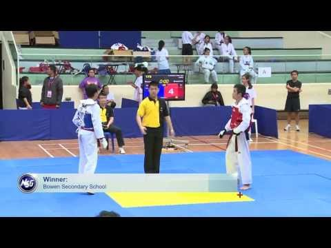 Bowen Secondary School and Springfield Secondary School dominates the Taekwondo scene in Singapore