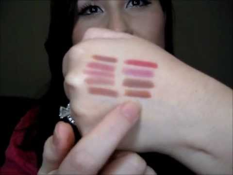Dior Lip Liner Haul, Swatches and Comparisons - YouTube