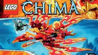 LEGO 70221 Flinx's Ultimate Phoenix Instructions LEGO LEGENDS OF CHIMA 2015