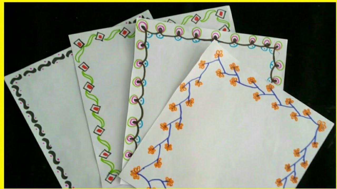 margenes para cuadernos   margenes bonitos   como hacer margenes ...