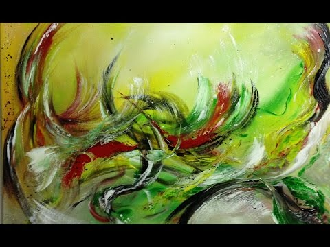 Summerfeeling  - Einfach Malen - Abstrakt - Easy Painting - Abstract/V25