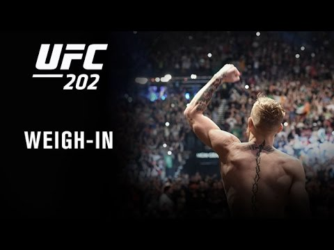 UFC 202: Official Weigh-in