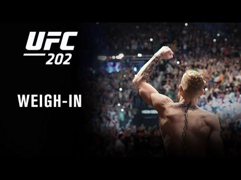 [Vidéos] La pesée de l'UFC 202