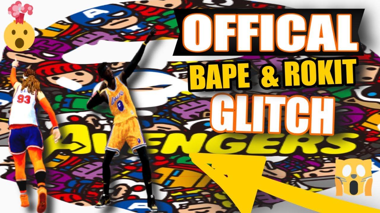 💯 NBA LIVE 19 #HOWTO GET Official BAPE Glitch NBA LIVE 19 [ BAPE & ROKIT ®] Tutorial #Bape #GLITCH