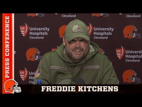 "Freddie Kitchens ""I Stand Behind Baker Mayfield"" 