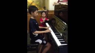 Chú ếch con - piano
