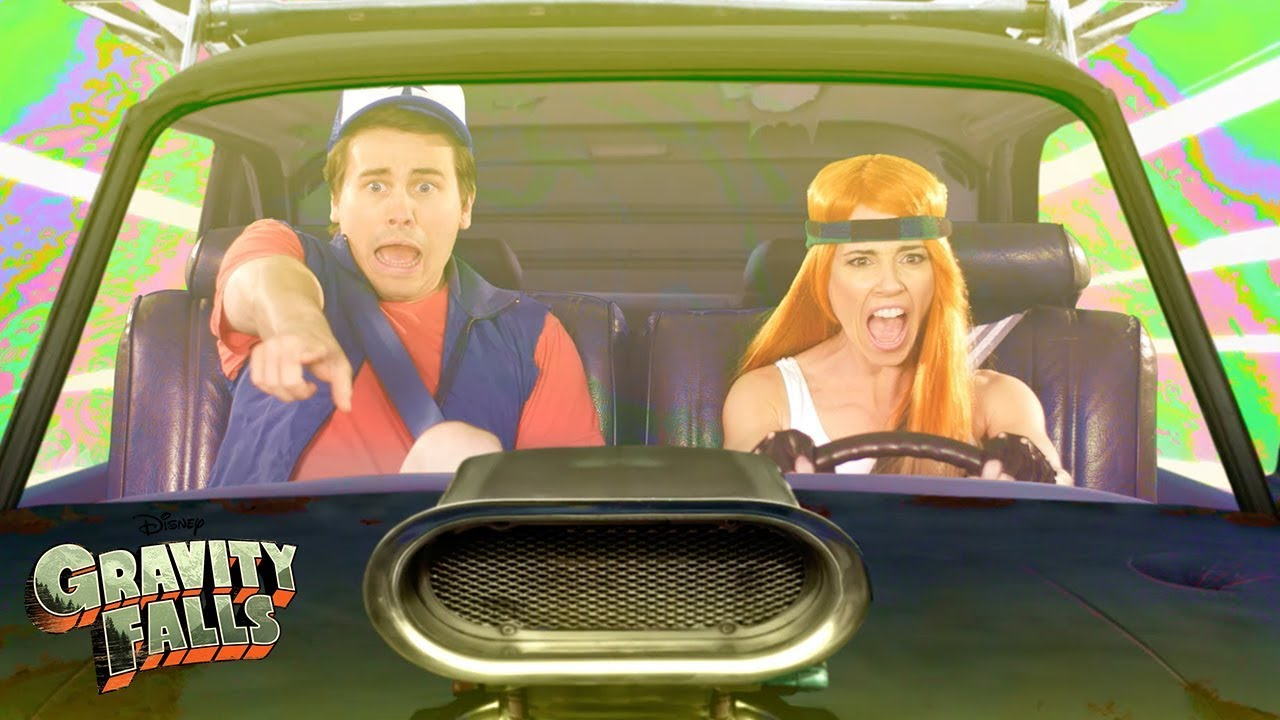 Download Car Chase 🚗 | Gravity Falls | Disney Channel