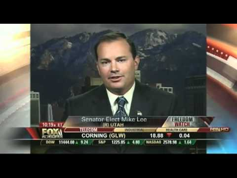 Mike Lee on Freedom Watch 11/6/10:  Repeal 17th Amendment and Term Limits p2/5