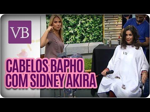 Corte de Cabelo com Sidney Akira - Você Bonita (01/06/16)