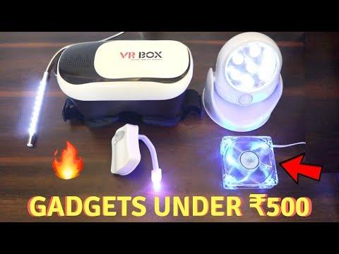 Unique Gadgets Under Rs500 | Part 10 | Tech Unboxing 🔥