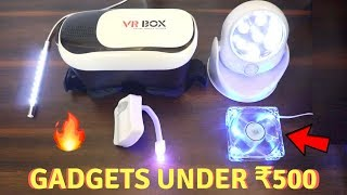 Unique Gadgets Under Rs500 | Part 10 | Tech Unboxing 🔥