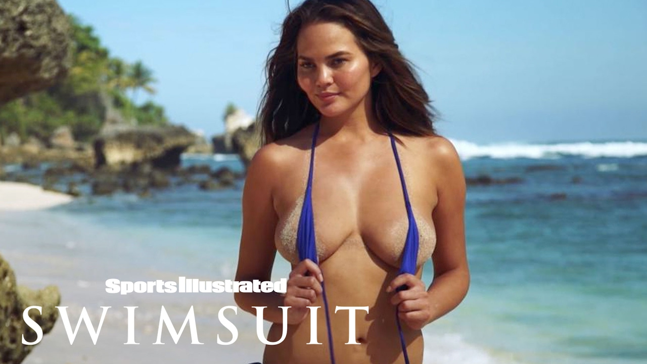 Chrissy Teigen Shows Off Her Post Baby Body Sports