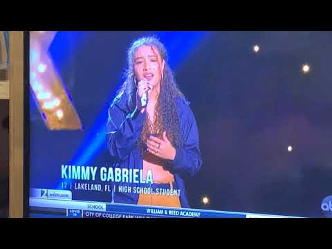 Kimmy Gabriela Of Lakeland, Fl Captivated Katy Perry On American Idol 2020