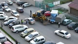 Loader accident! Авария погрузчика! (www.vertikalnet.ru)