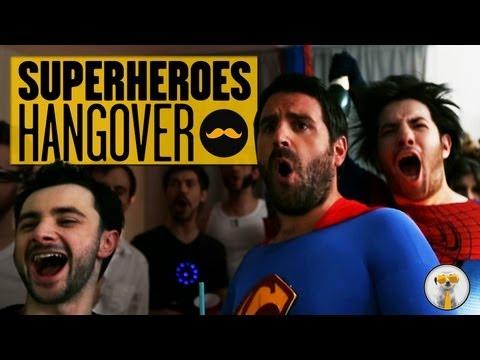 Superhero Hangover