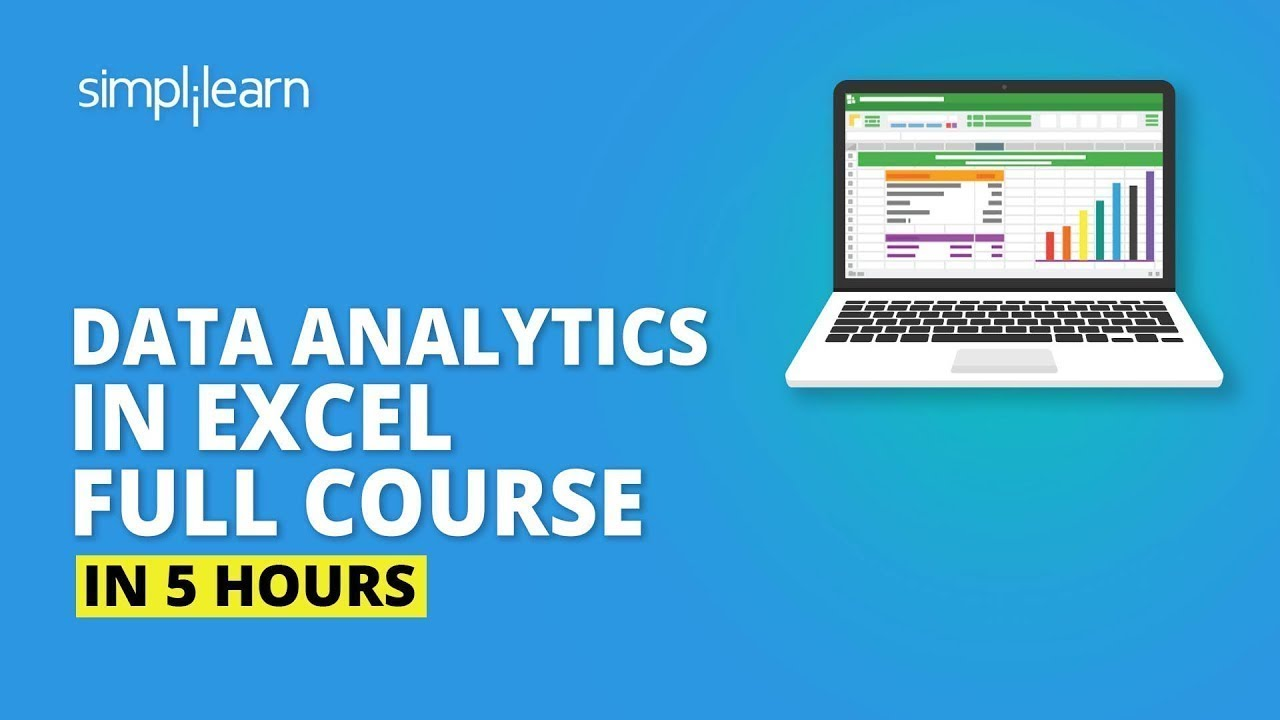 Data Analytics In Excel Full Course | Data Analytics Course For Beginners