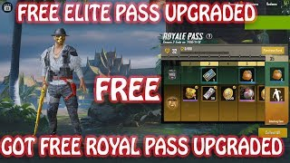 FREE ELITE ROYAL PASS UPGRADE BY PUBG MOBILE TEAM, THNX FOR THE GIFT