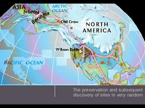 North America during the ice age - YouTube
