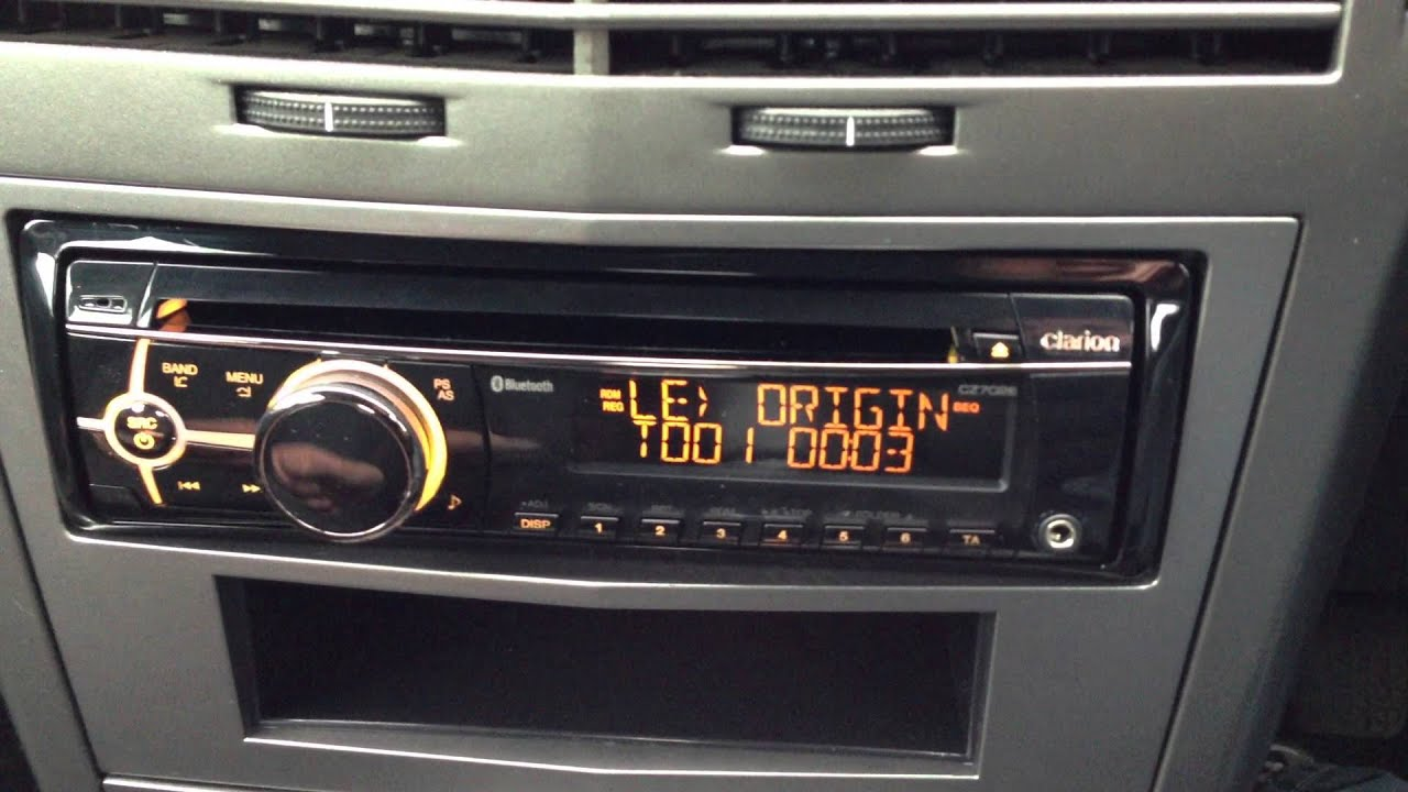 Vauxhall astra clarion dab ipod bluetooth stereo fit for Astra h tablet install