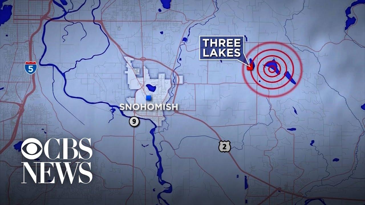 4 6 Magnitude Earthquake Shakes Seattle Area Youtube