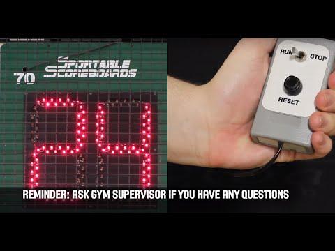 SHOT CLOCK - Basketball Manitoba Scoreboard Video Series
