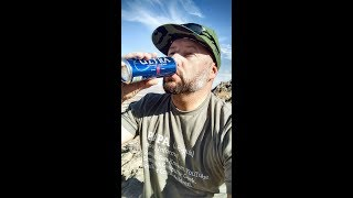 Drinking a Beer on Lone Mountain -- Las Vegas -- Happy New Year - Mother Rucker USA