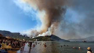 video: Watch -Death toll in Turkish wildfires rises to four as tourists are evacuated