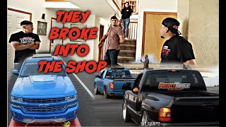 FINDING OUT THEY BROKE INTO THE SHOP + COLORADO DAY 1