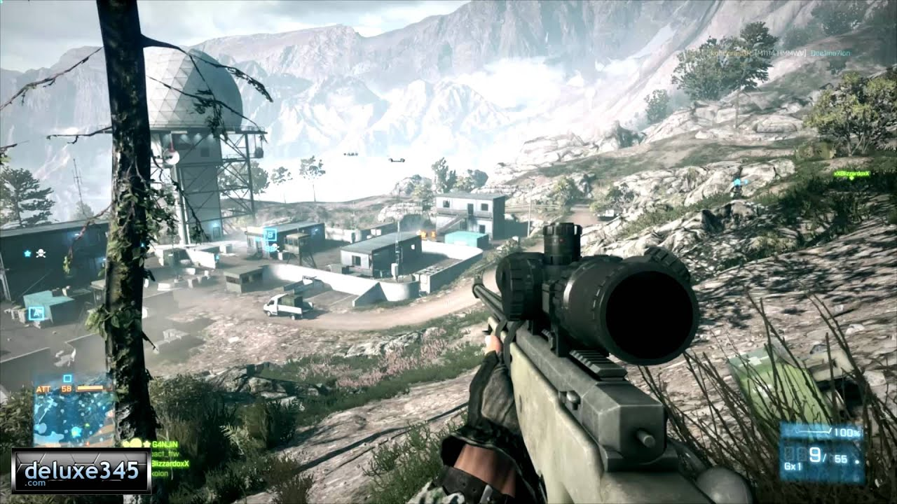 Battlefield 3 Multiplayer Sniper Footage PC HD YouTube
