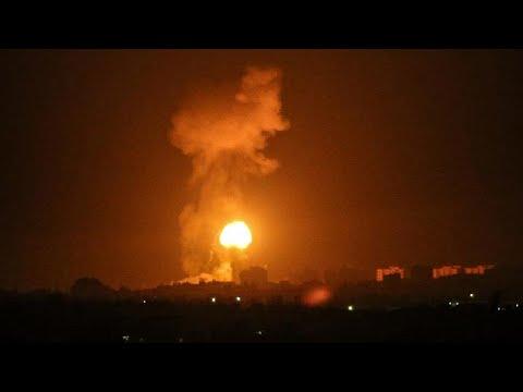 Nuovo Attacco Aereo Israeliano Sulla Striscia Di Gaza