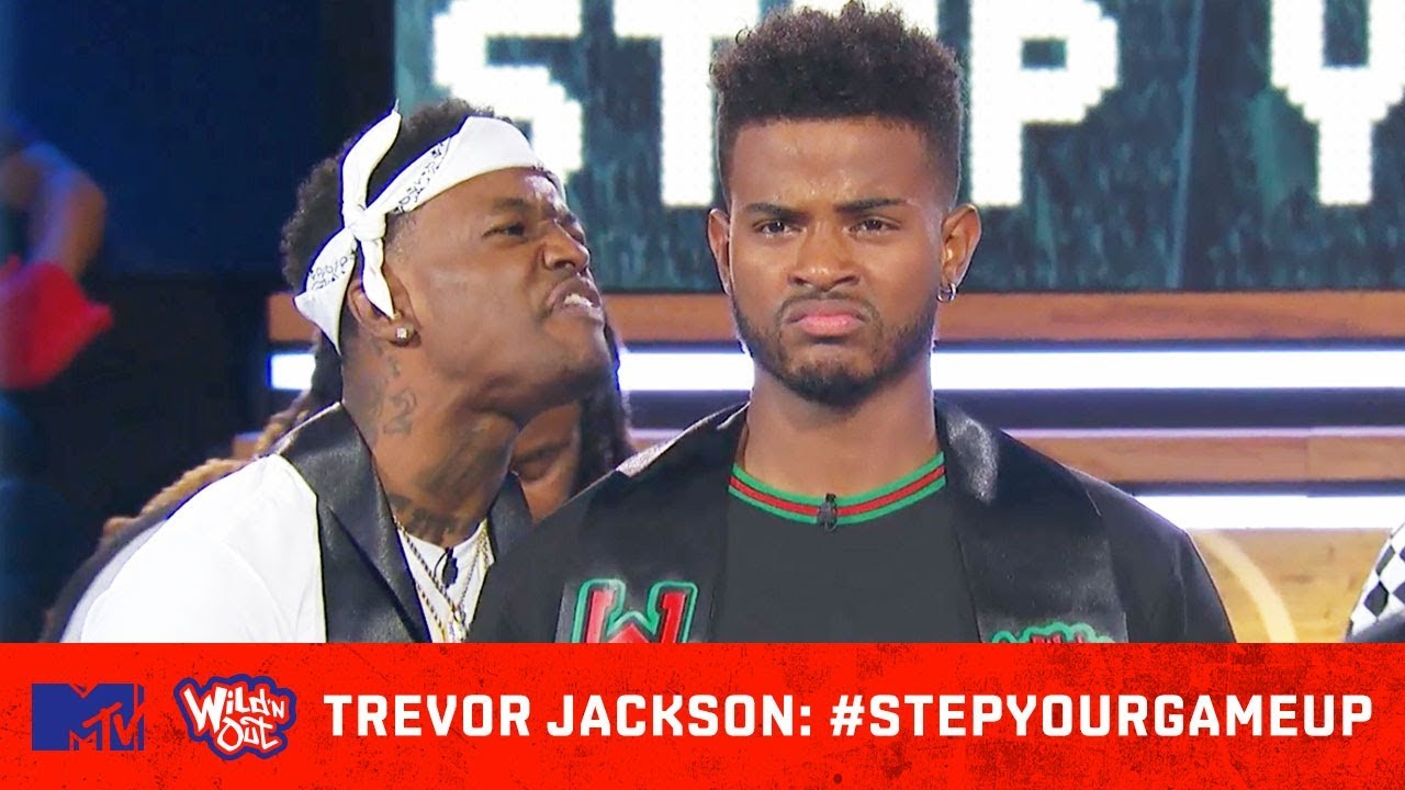 DC Young Fly Gets Trevor Jackson To Pledge ✊ | Wild 'N Out | #StepYourGameUp