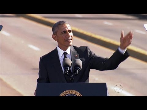 "Obama remembers ""Bloody Sunday"" in Selma"