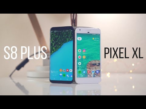 Google Pixel XL vs Galaxy S8 Plus: Premium tier showdown