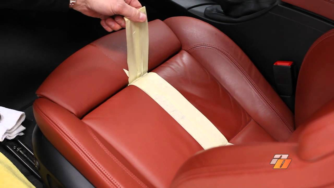 How to clean and condition your leather with swissvax leather cleaner by auto obsessed youtube for How to clean interior car seats