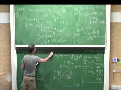 Cambridge short lecture 27 -Holcman- Markov model of stochastic chemical reactions