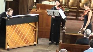 Sinfonia Concertante K364: Allegro Maestoso (Conclusion)