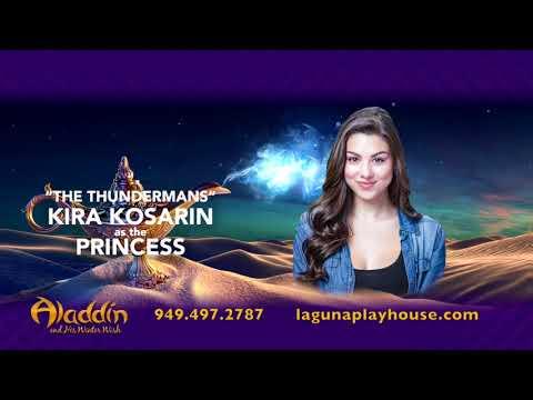 Aladdin at the Laguna Playhouse 2017