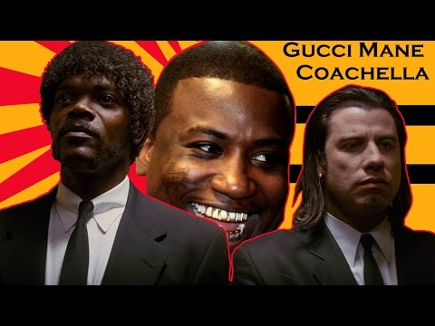 Gucci Mane – Coachella (Pulp Fiction Mash up) Music Video