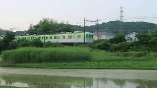 【快走】神戸電鉄1150系リバイバル塗装車両(大村~三木