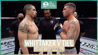 Robert Whittaker v Darren Till | UFC Fight Island highlights
