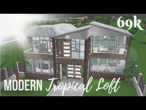 Roblox | Bloxburg | Modern Tropical Loft