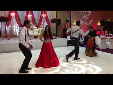 Farah & Firoz's Wedding Reception Dance