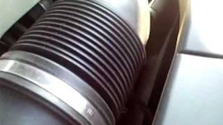BMW 745i e65  / N62 engine knock