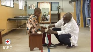 Working for the ICRC: orthotist-prosthetist, physiotherapist