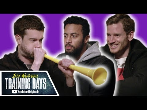 Most Stressful Meditation EVER with Jan Vertonghen & Mousa Dembélé | Jack Whitehall: Training Days