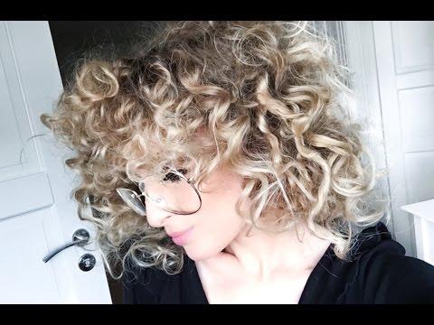 BIG CURLY HAIR - NO HEAT