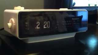 The Groundhog Day Movie Clock -  Panasonic RC6025 Flip Clock