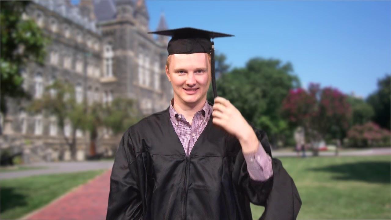 how to wear graduation