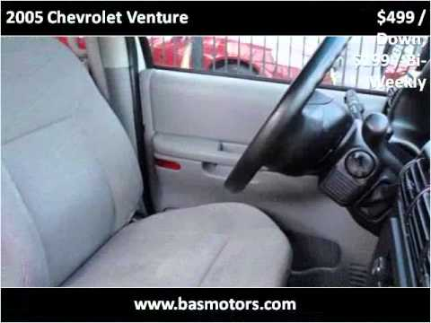 2005 Chevrolet Venture Used Cars Houston TX