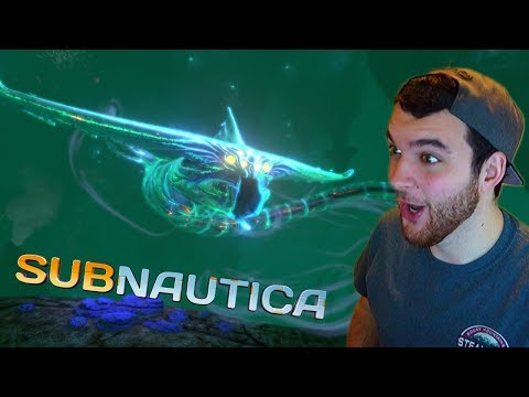 Fighting The GHOST LEVIATHAN?! (Subnautica First Time Playthrough #3)